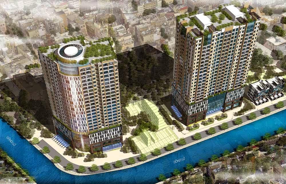 Ý tưởng thiết kế của chung cư CT36 Dream Home