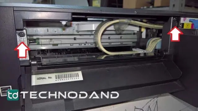 Cara bongkar casing atas printer Epson L1110