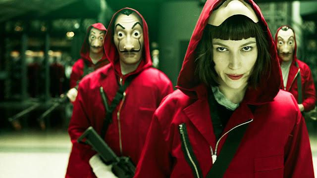 Netflix confirma 3ª temporada de La Casa de Papel