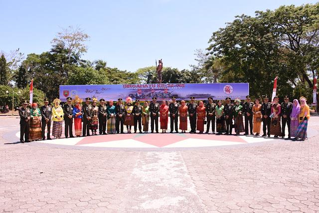 Upacara Peringatan HUT TNI ke 74 dalam Wilayah Korem 141/Tp Dipusatkan Di Bone