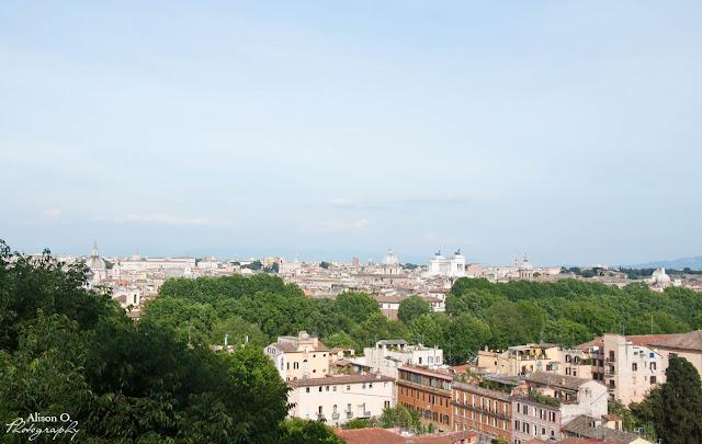 citytrip Rome vacances Trastevere voyage Gianicolo