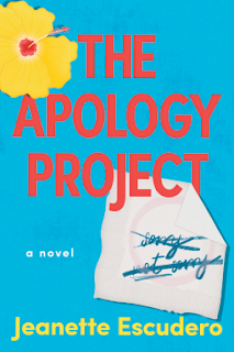 Book Review and GIVEAWAY: The Apology Project, by Jeanette Escudero {ends 8/11}