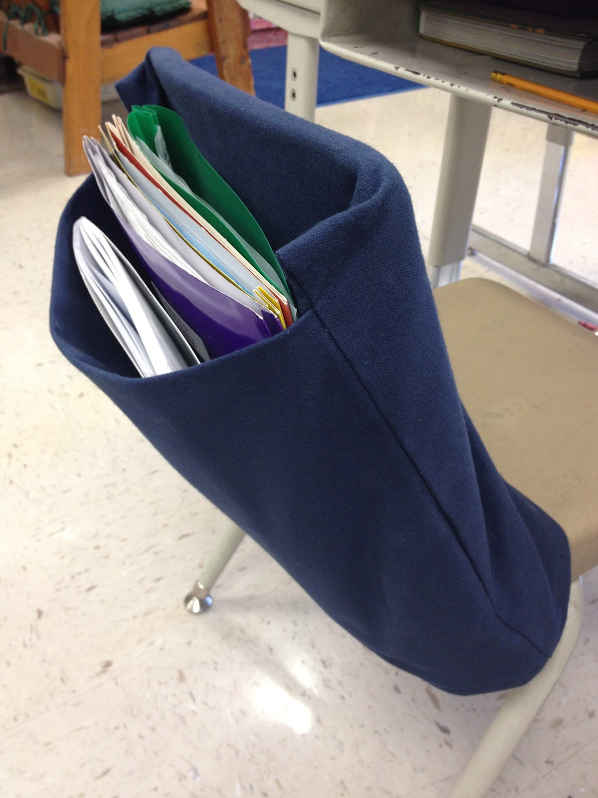 Chair Pockets For Classrooms Totally Terrific In Texas Classroom Pics