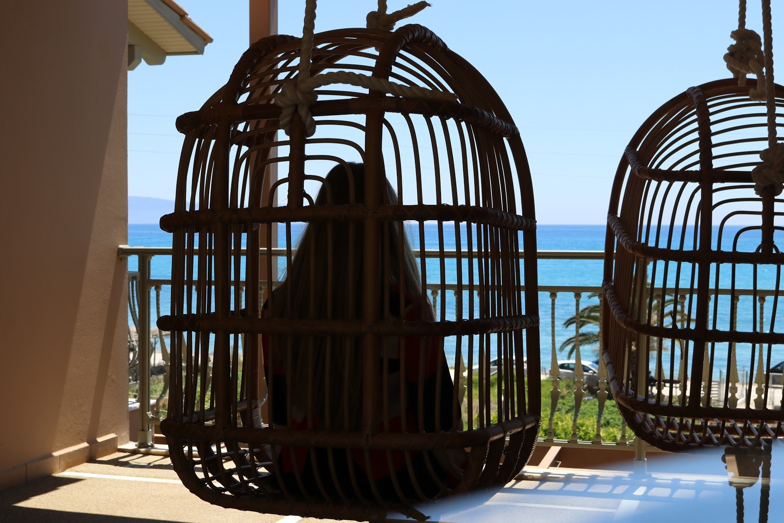 egg chairs, F Zeen Resort, Unique Villas, Kefalonia