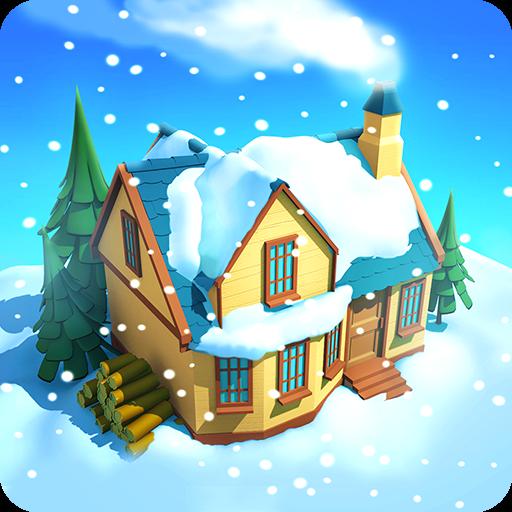 تحميل لعبه Snow Town - Ice Village World مهكره وجاهزه اصدار 1.0.2