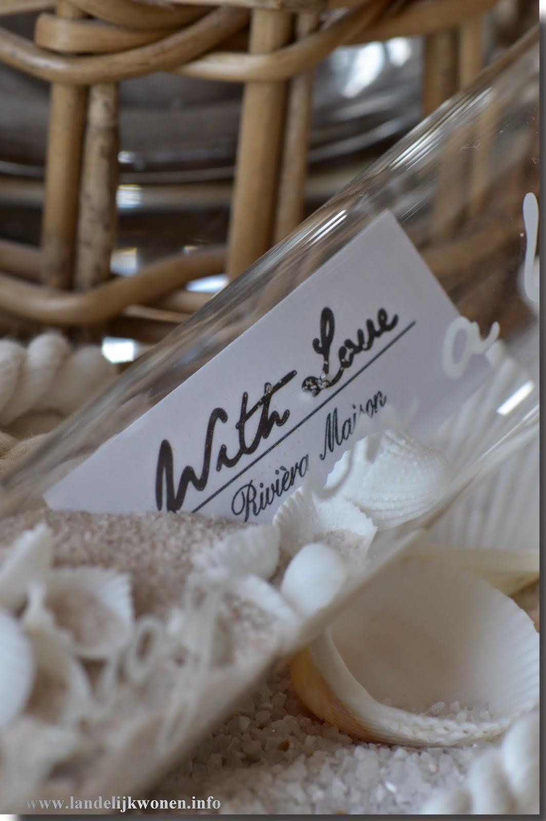 Favoriete Vaak Message In A Bottle Riviera Maison HV18 | Belbin.Info LT49