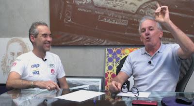 Rodrigo e Otávio (Divulgação/SBT)