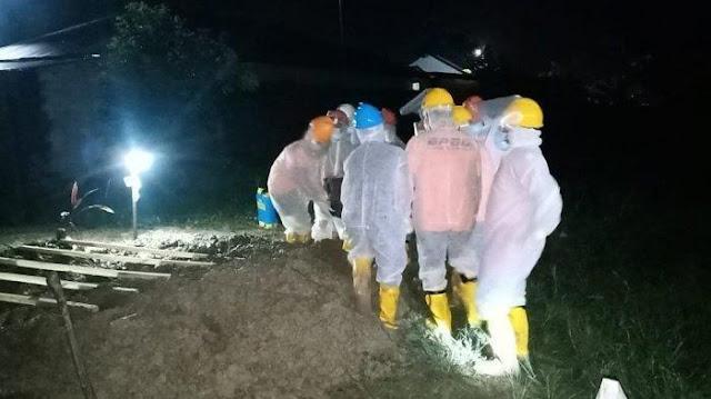 Lagi, Penolakan Pemakaman Korban Covid-19, Warga Mencirim Lempari Ambulans yang Sedang Cek Pemakaman