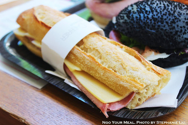 Jambon-Beurre Sandwich at Gontran Cherrier in Paris