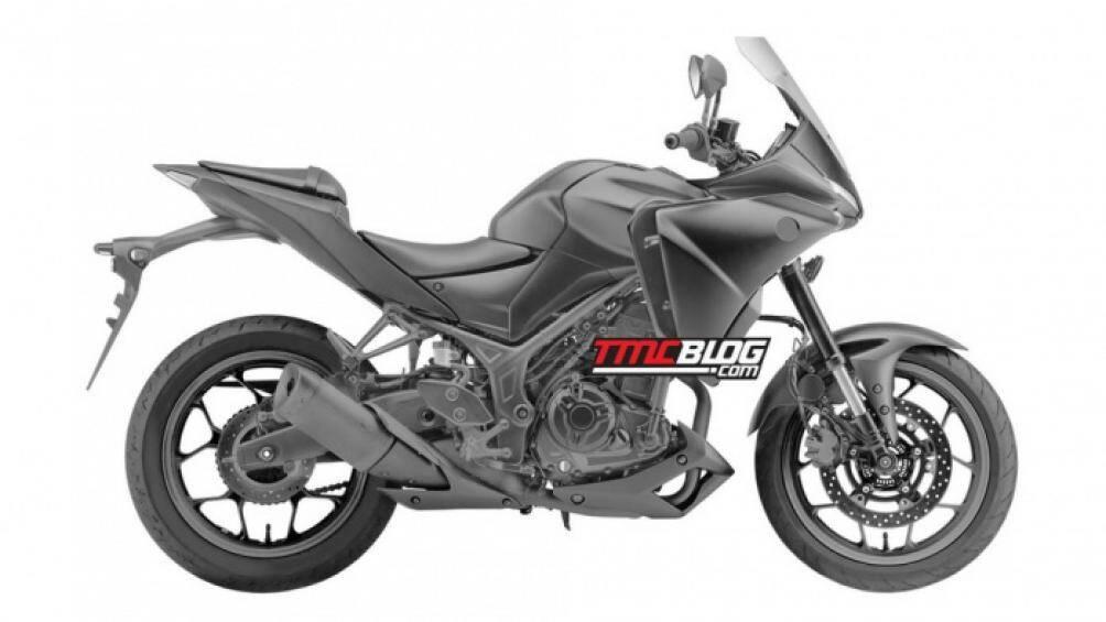 Yamaha Trace 300 sắp được ra mắt với nhiều trang bị mới