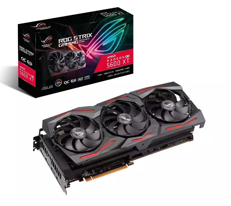 ASUS ROG Strix Radeon RX 5600 XT Graphics Card