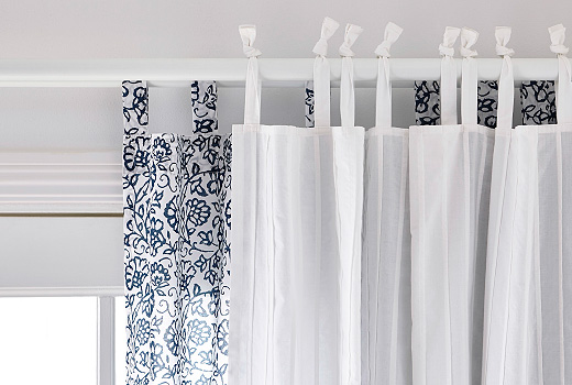 Double Rod Shower Curtain Curved Rods Curtains For