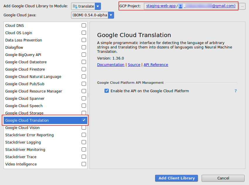 Google Cloud Platform Blog: Access Google Cloud services