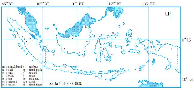 Soal Geografi : Sumber Daya Alam dan Kunci Jawaban