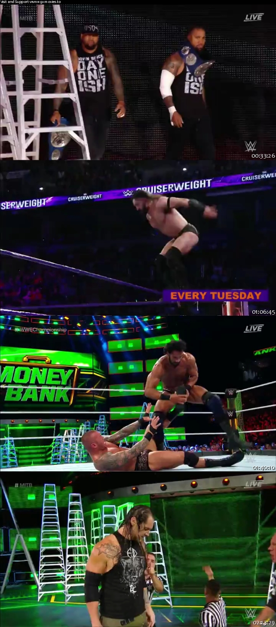 WWE Money In The Bank 2017 PPV WEBRip 480p