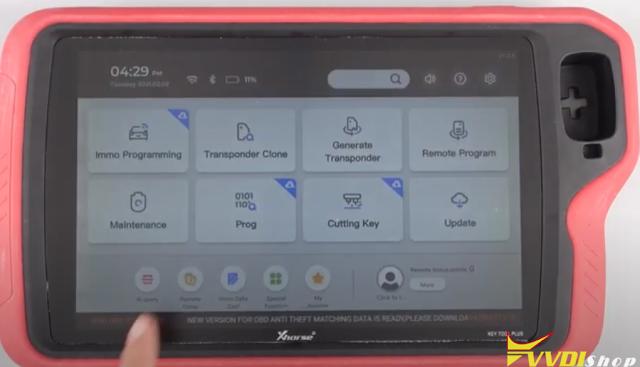 Xhorse Key Tool Plus Remote Online-cloud Recognition 1