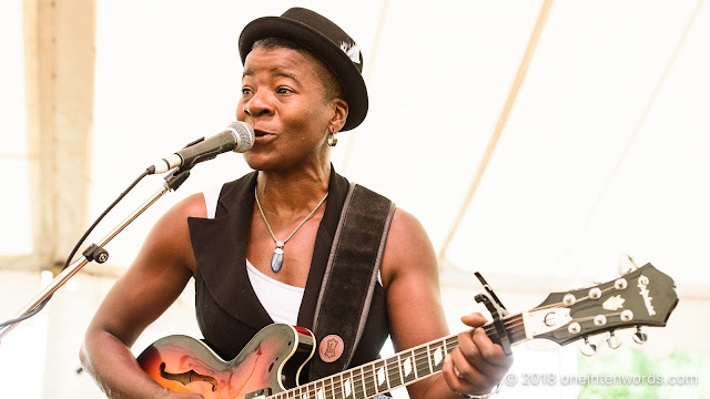 Cécile Doo-Kingué at Hillside 2018 on July 15, 2018 Photo by John Ordean at One In Ten Words oneintenwords.com toronto indie alternative live music blog concert photography pictures photos