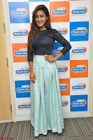 Shravya in skirt and tight top at Vana Villu Movie First Song launch at radio city 91.1 FM ~  Exclusive 17.JPG