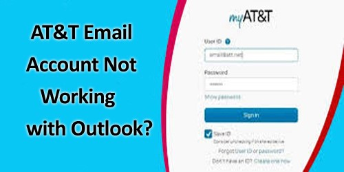 How To Solve AT&T Email Account Not Working With Outlook Issue?