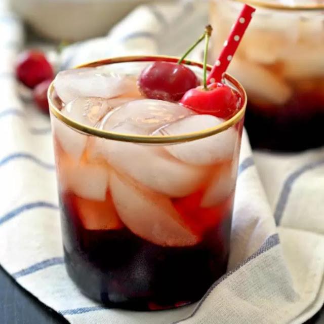 Adult Dark Cherry Cream Soda