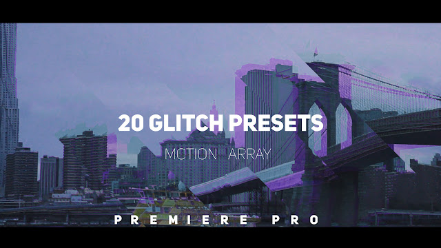 Glitch Transitions Presets - Premiere Pro Presets | Motionarray