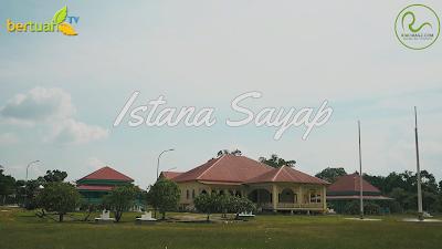 gambar Istana Sayap Pelalawan Riau