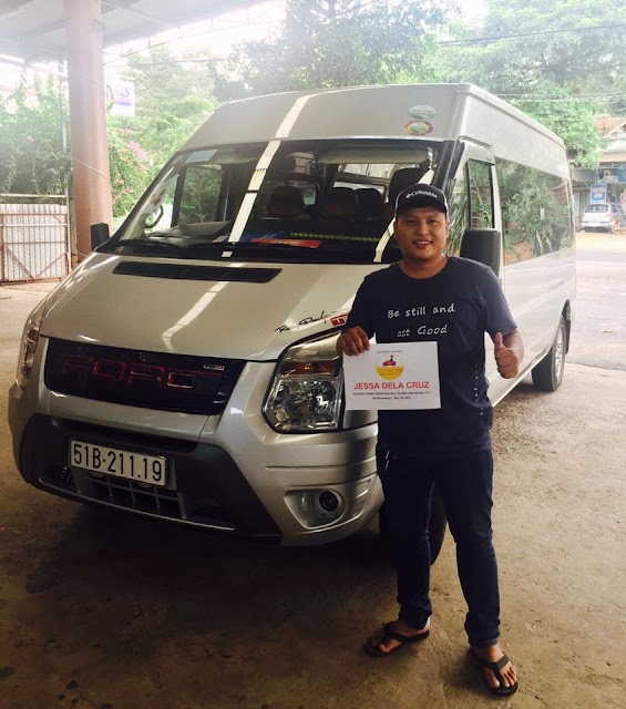 Cho thue xe du lich 16 cho Ford Transit tai Sai Gon - Ho Chi Minh