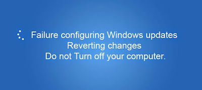 Failure Configuring Windows Updates Reverting Changes