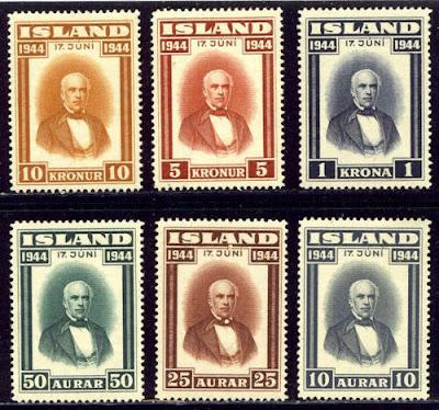 Iceland 1944 Sigurdsson Set