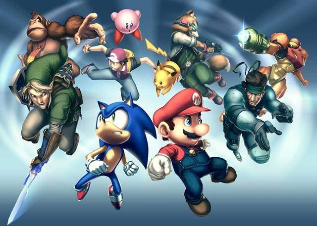 Super Smash Bros Brawl PC Full Descargar Español ISO DVD5 Convertido 2012