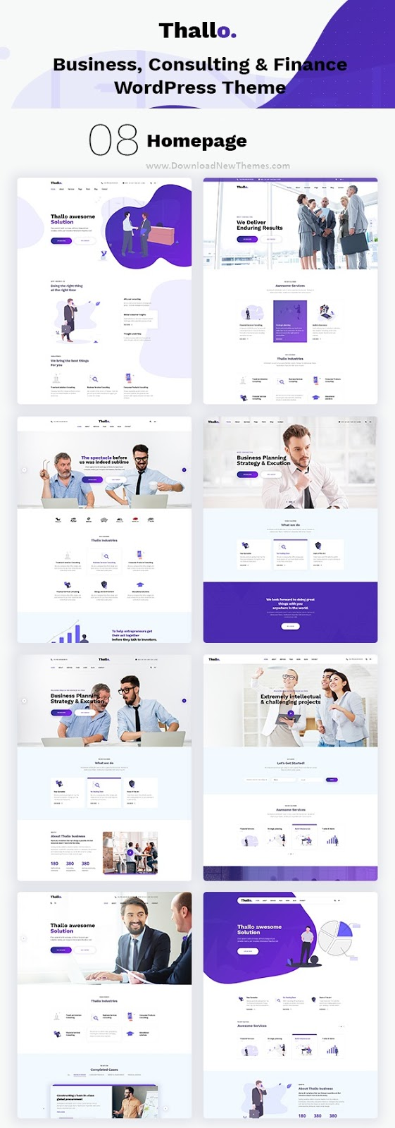 Consulting & Finance WordPress Theme