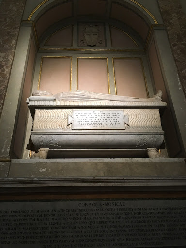 St. Monica's tomb