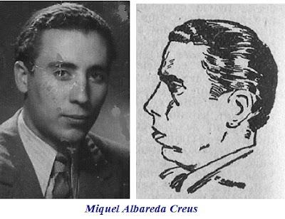 Dibujo y foto de Miquel Albareda Creus