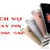 Dịch vụ thay pin iPhone SE tránh hàng dựng