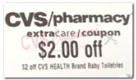 2.00/1 CVS Health Brand Baby