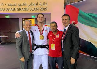 JUDO - Niko Sherazadishvili logra una nueva victoria de Grand Slam, en Abu Dhabi