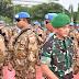 Pangdam I/BB hadiri Pelepasan Satgas Kompi Zeni TNI Konga XX-Q MONUSCO ke Kongo