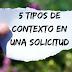 5 Tipos de Contexto en una Solicitud