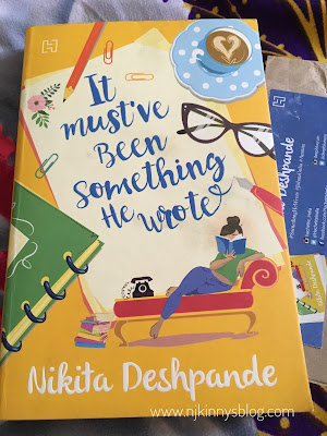 It Must've Been Something He Wrote by Nikita Deshpande -Book Review NWoBS Blog