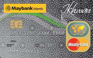 Maybank Islamic Mastercard Ikhwan Platinum Glod Card