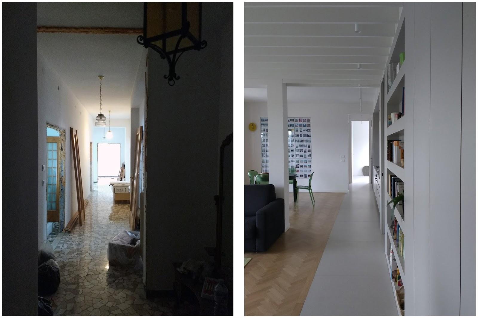 Riccardo bandera architetto are ristrutturazione for Case ristrutturate interni