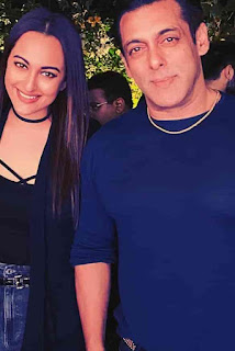 Sonakshi Sinha With Salman Khan
