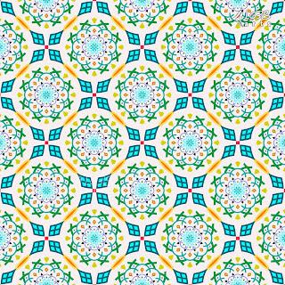 Modern Islamic & Arabic Seamless Vector Pattern