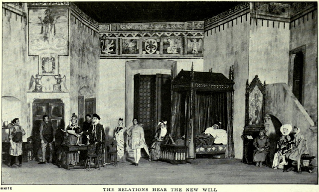 Puccini's Gianni Schicchi at the work's 1918 premiere at the Metropolitan Opera, New York