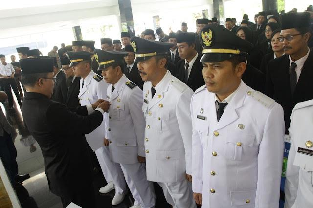 250 Pejabat Resmi Di Lantik