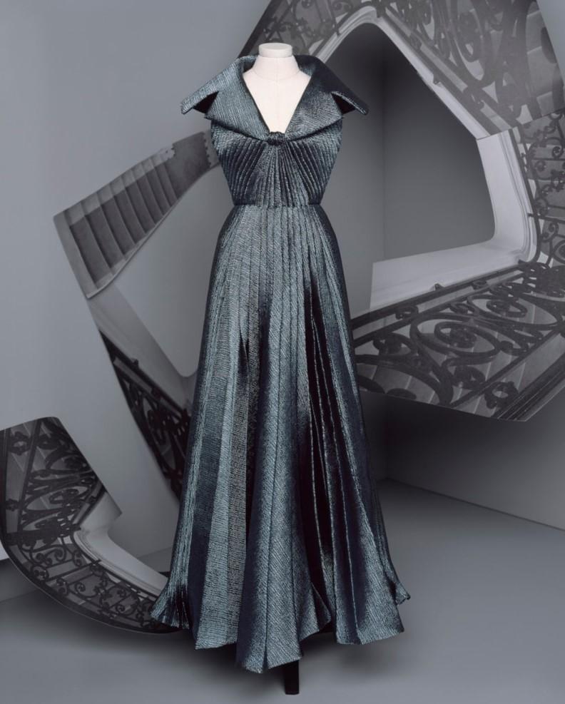 Vestido Dior alta-costura