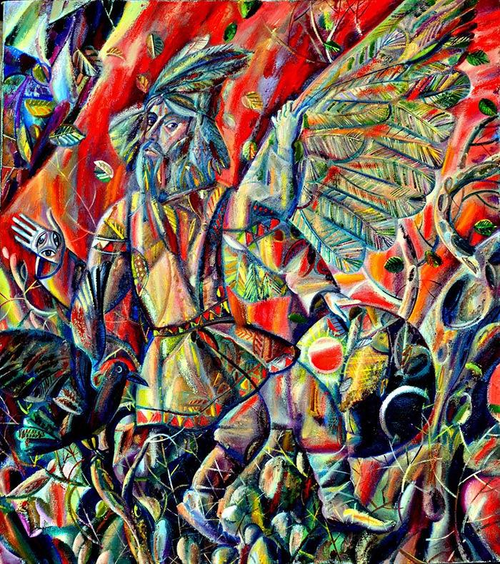 Российский художник. Сергей Лебедев