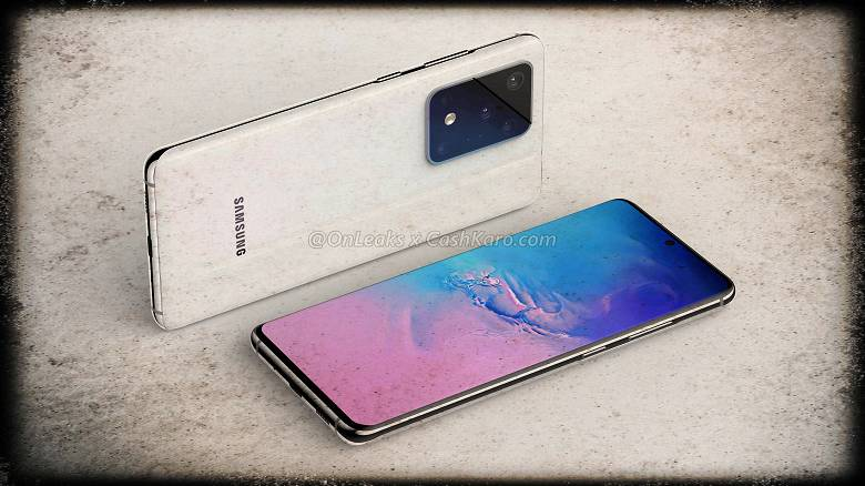That's what the Samsung Galaxy S11 + will actually look like, and it's weird