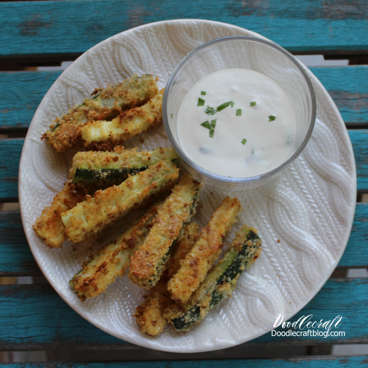 Doodlecraft: Zucchini And Squash Oven Baked Fries