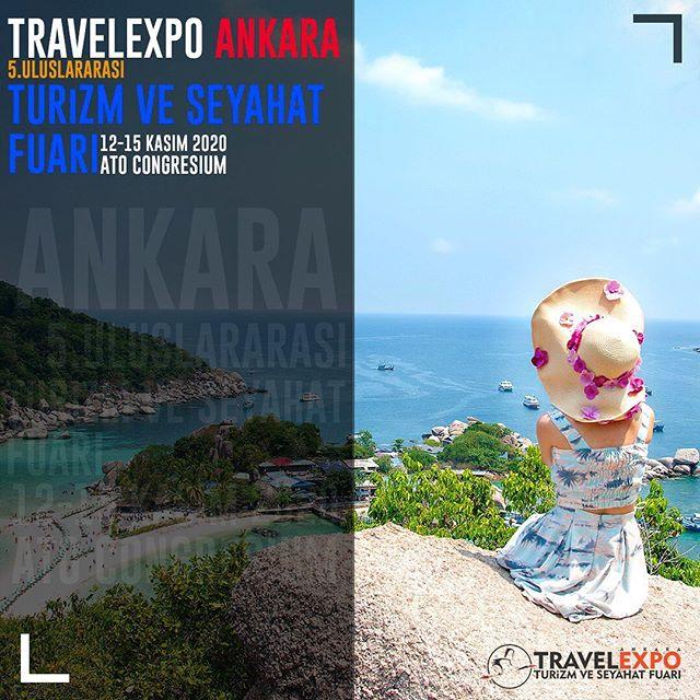 2020 Travel Expo 5.Uluslararası Ankara Turizm ve Seyahat Fuarı